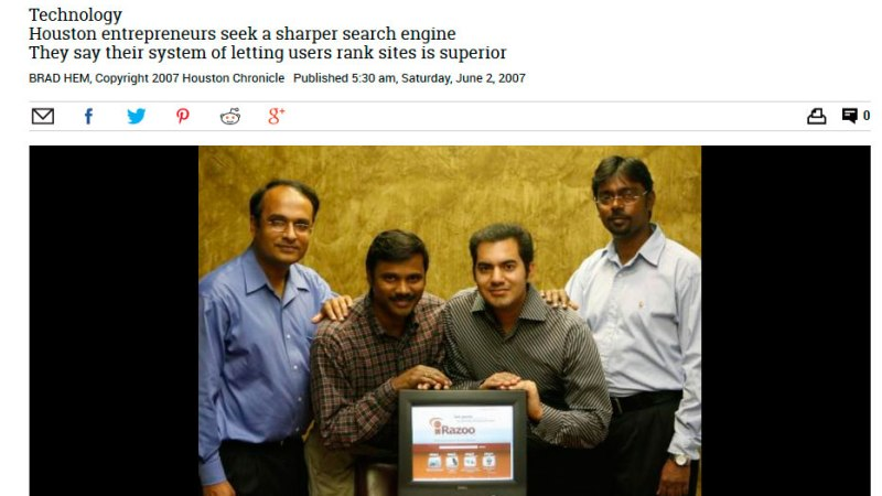 Houston entrepreneurs take on Google,Yahoo